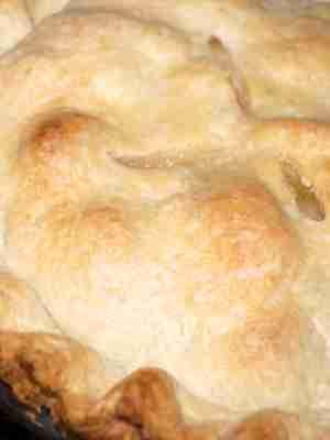 Pear Blueberry Pie