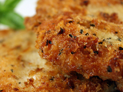 Breaded Baked Chicken Breast
