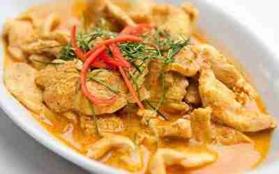 Coconut Pork Korma Curry