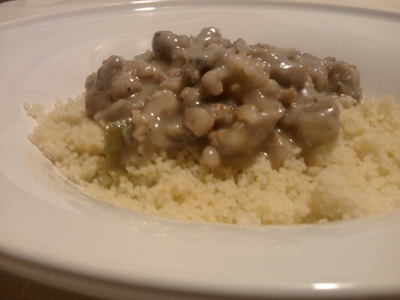 couscous with italian sausage