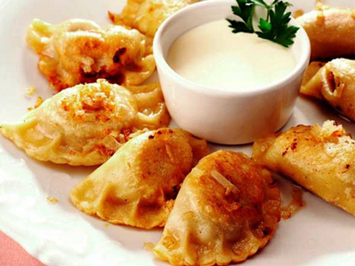 potatoe and cheese pierogies