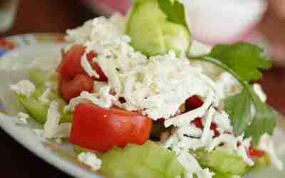 Shopska Salata – Bulgarian Salad
