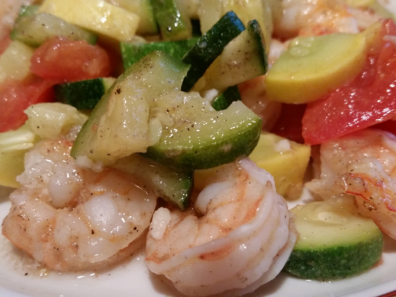 Provencal Shrimp and Vegetables